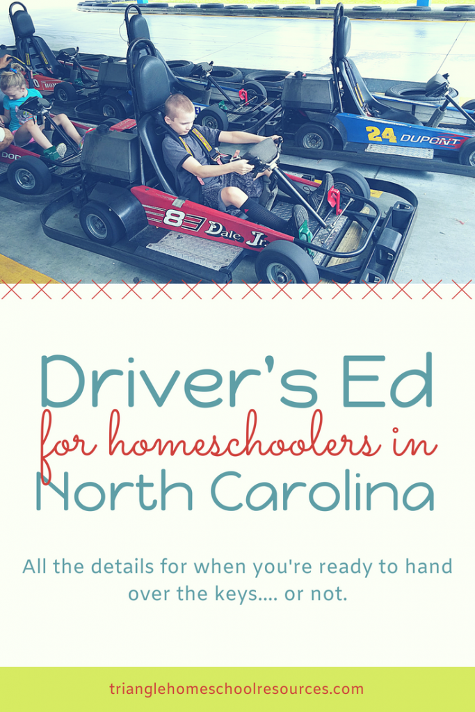 Driver's Ed for NC Homeschoolers