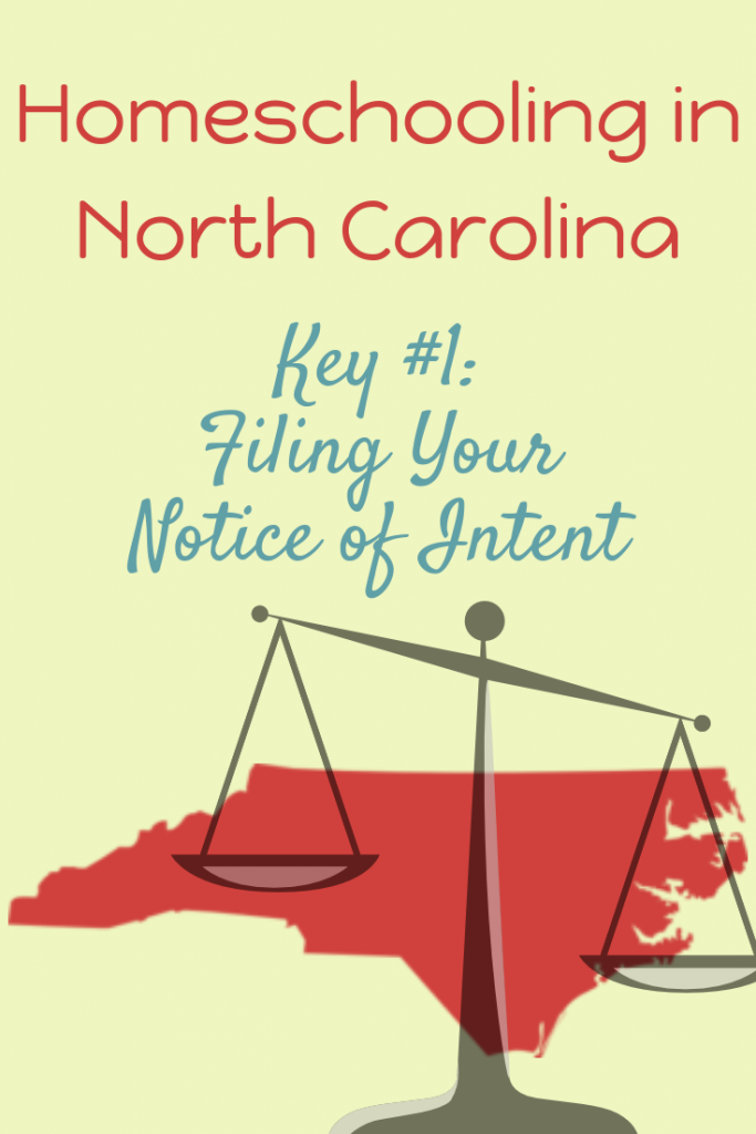 Filing Your Notice of Intent in NC