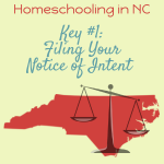 Filing Your Notice of Intent to Homeschool in North Carolina