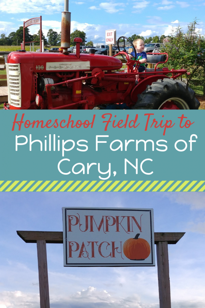 Phillips Farm in Cary, NC is a great field trip or family day out!