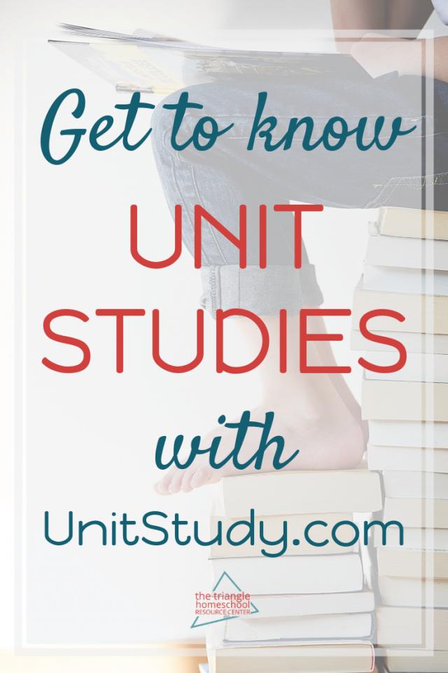 Unit Studies are great homeschool tools!