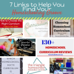 7 Links to Help You Find Your Homeschooling Groove