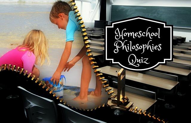Homeschool Philosophies Quiz from Eclectic Homeschooling