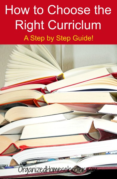 Choosing the Right Curriculum: A Step by Step Guide