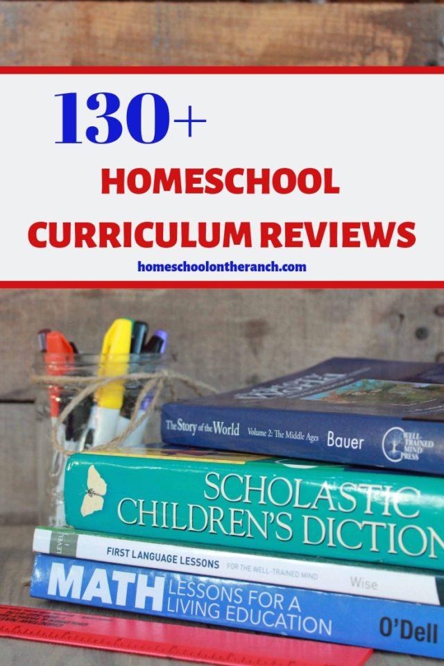 130+ Curriculum Reviews