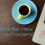 NEW!! Getting Started - Events for new homeschoolers!