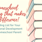 A Reading List for Homeschool Parents