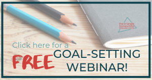 Free Goal Setting Webinar from The Triangle Homeschool Resource Center