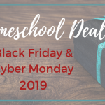 homeschool deals for black friday