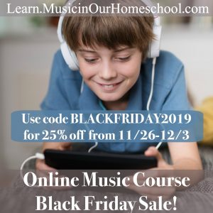homeschool music classes