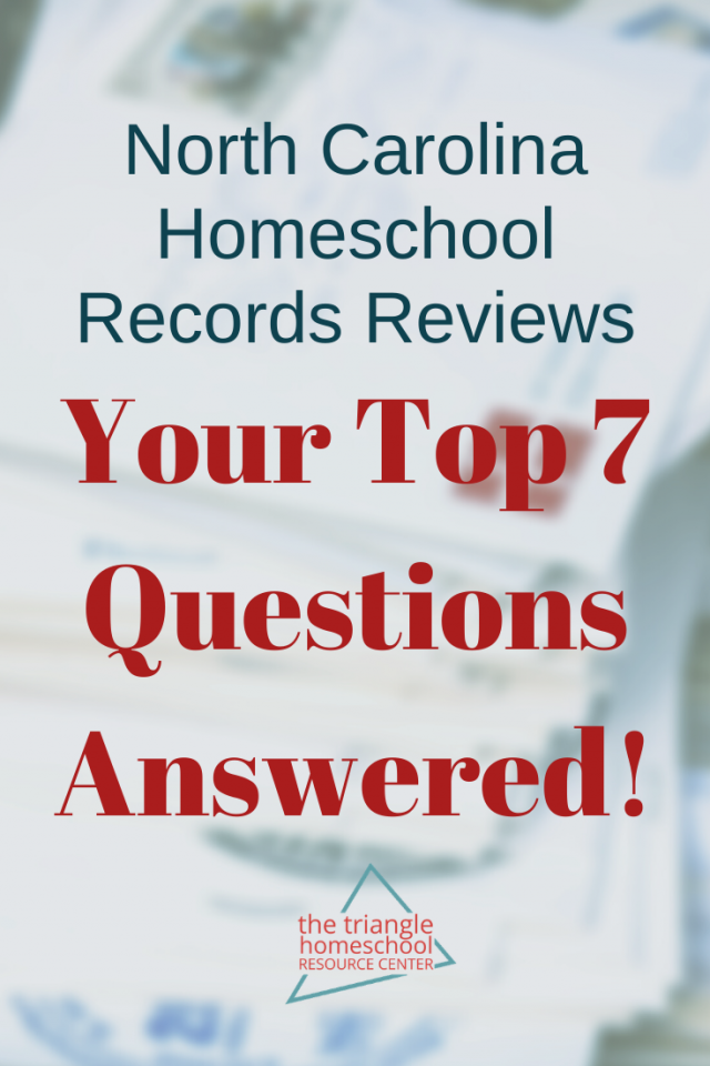 NC Homeschool Records Review by mail