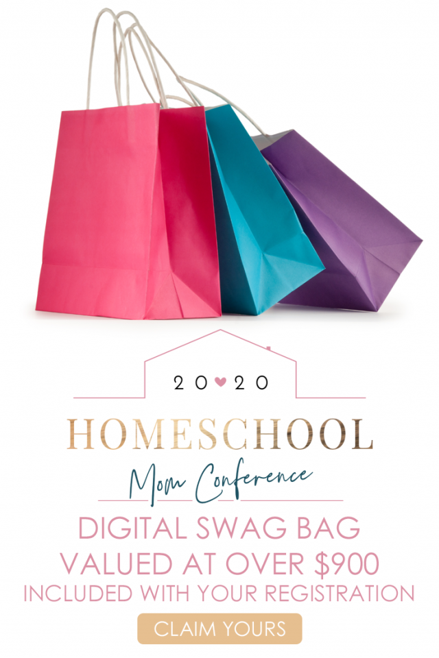 2020 Homeschool Moms Conference Digital Swag Bag