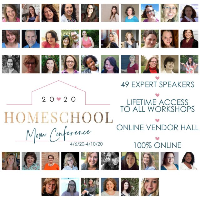 2020 Homeschool Moms Conference Speakers