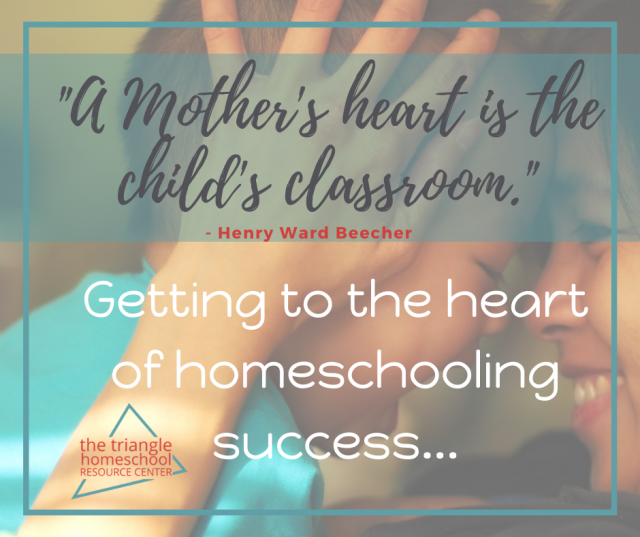 Homeschooling success comes from the heart